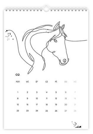 Kalendarz graficzny - wyprzedaż!
